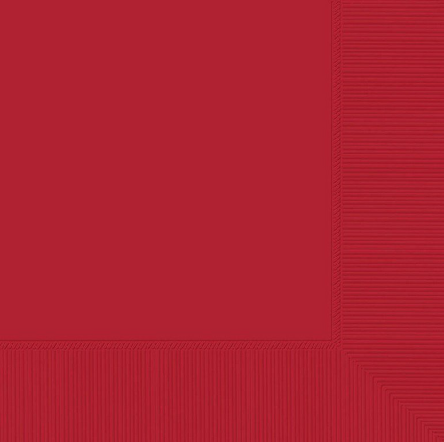 L/Napkin 20CT 2PLY-Apple Red