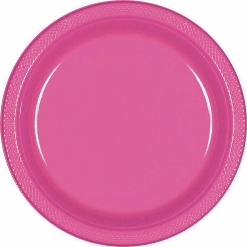 Plas Plates 17.7cm 20CT-Bright