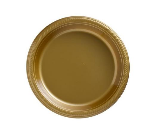 Plas Plates 26cm 20CT-Gold Spa