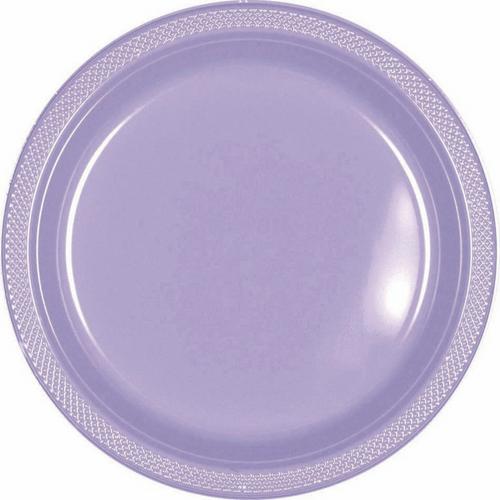 Plas Plates 17.7cm 20CT-Lavend