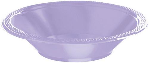 Plas Bowl 355ml 20CT-Lavander