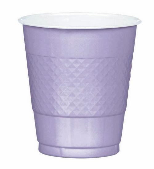 Plas Cup 355ml 20CT-Lavender