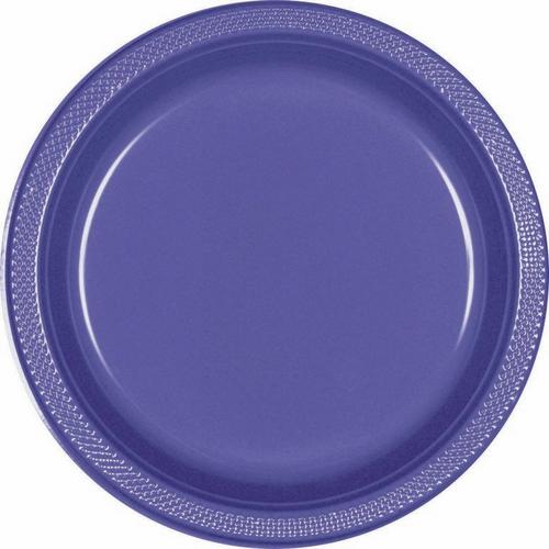 Plas Plates 22.9cm 20CT-New Pu