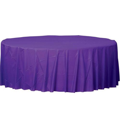 Plas Rnd TCover-New Purple