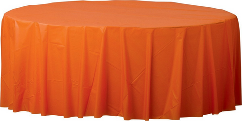 Plas Rnd TCover-Orange