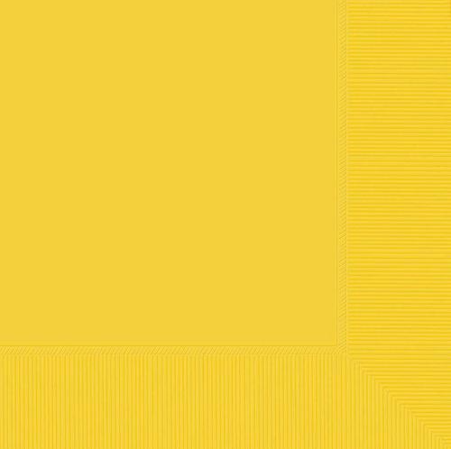 L/Napkin 20CT 2PLY-Yellow Suns