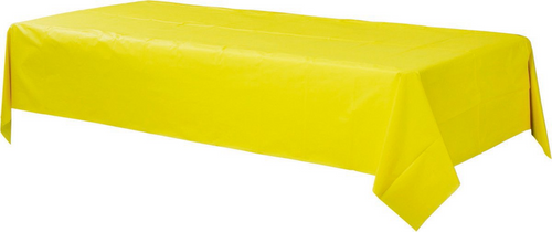 Plas Rect TCover-Yellow Sunshi