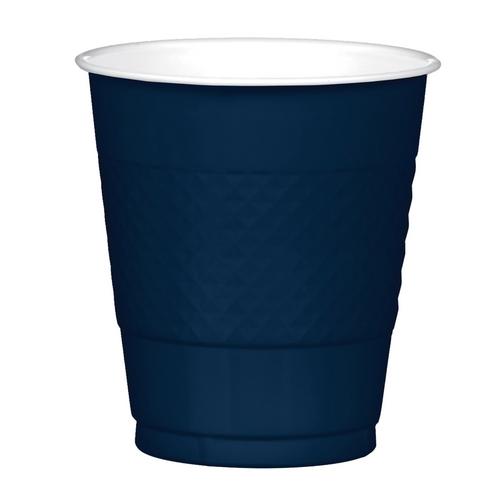 Plas Cup 355ml 20CT -Navy