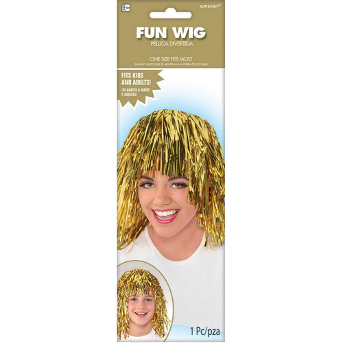 Fun Wig - Gold