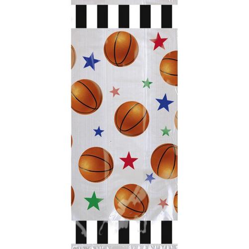 Basketball Fan Cello Party Bag