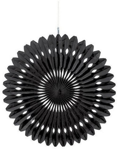 Hang Fan Deco  - Jet Black