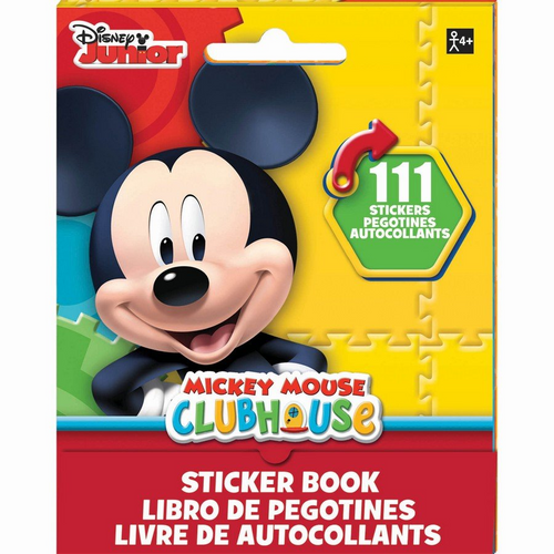 Sticker Booklet Mickey Mouse