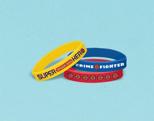 Spider-Man WW Rubber Bracelets