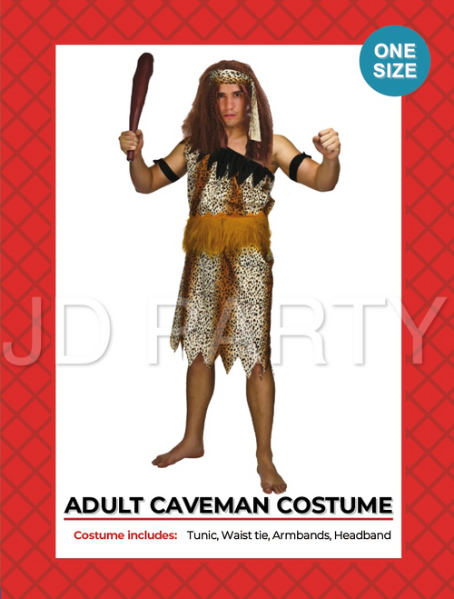 Adult Caveman Costume (08004)