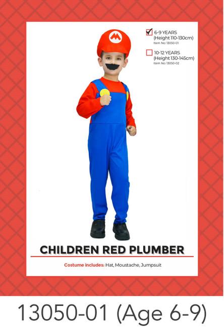 Children Mario Costume (7-9 years)