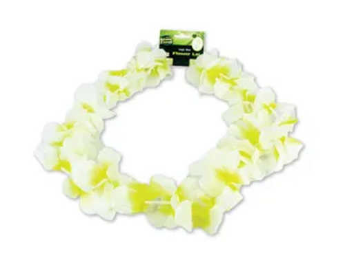 FLOWER LEI- WHITE