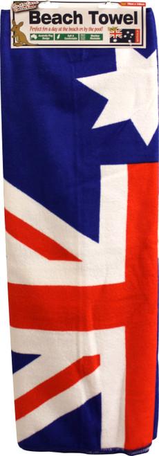 Towel Beach Australian Flag 70 x 140cm