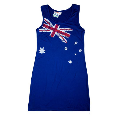 Dress Australiana Tank Ladies