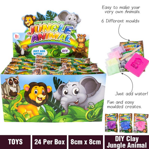 Clay Jungle Animal Make Your Own