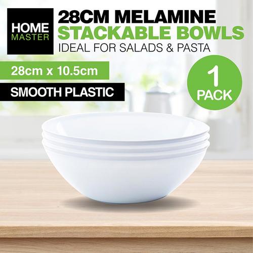 Melamine Bowl Salad Large 28cm x 10cm