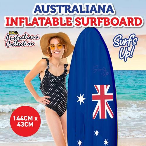 Surfboard Australian Inflatable 144cm x 43cm