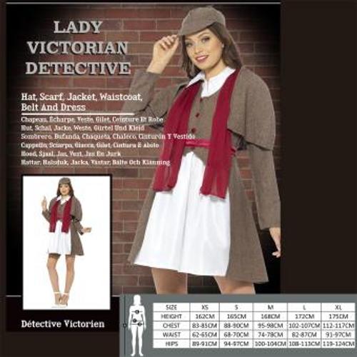 LADY VICTORIAN DETECTIVE SIZE M