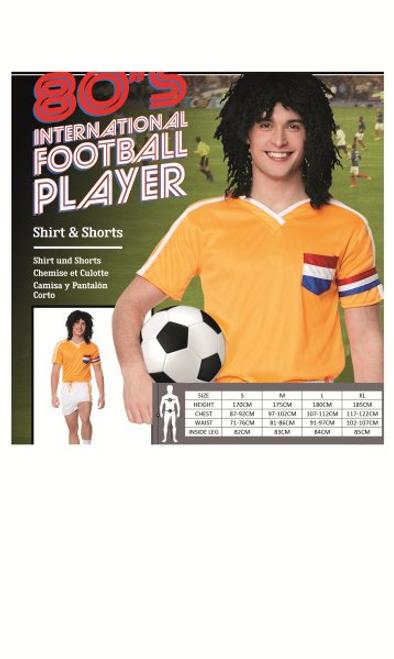 *80,S INTERNATIONAL FOOTBALL PLAYER SIZE-XL