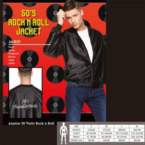 50s ROCK N ROLL JACKET SIZE XL