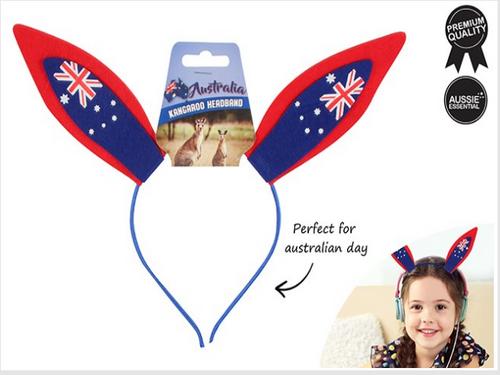 AUSTRALIAN FLAG KANGAROO   HEADBAND