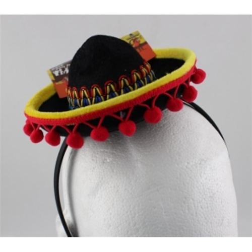 MINI MEXICAN HAT ON HEADBAND