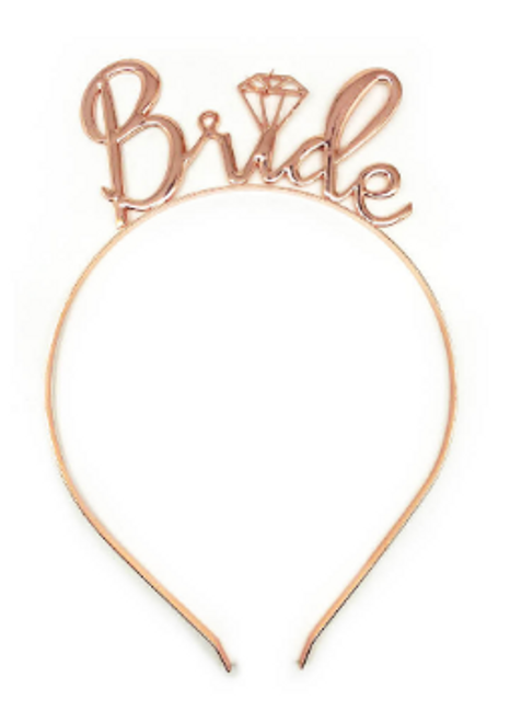 Bride to be Headband Deluxe (Rose Gold)