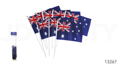 Australian Hand Signal Flag (14cm x 21cm)