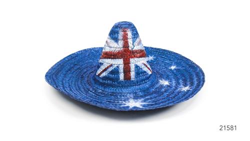 Mexican Hat (L) (Australian Flag)