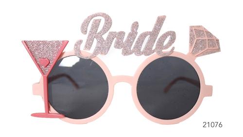 Party Glasses Bride Glitter