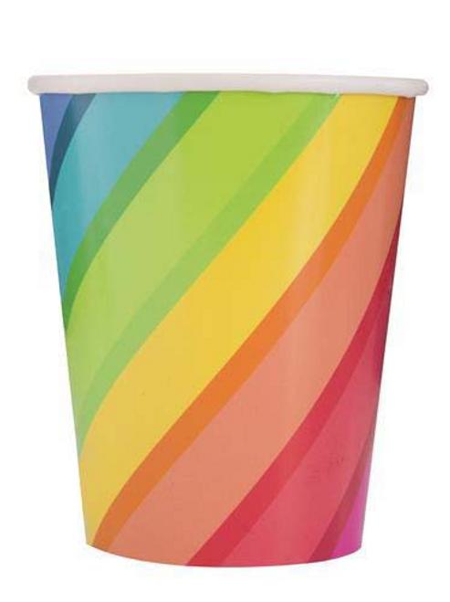 BLNS & RAINBOW 8 x 9oz CUPS