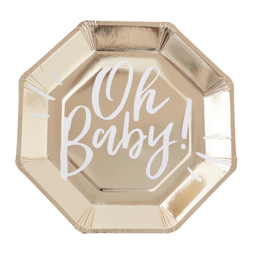 GR Oh Baby! Gold Foil Ppr Plat
