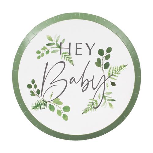 GR Botanical Baby Ppr Plates 9