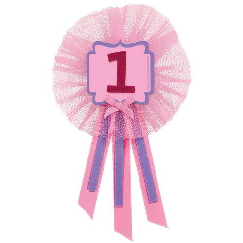1st BDay Girl Award Rbn**