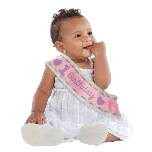 1st Birthday Girl Sash