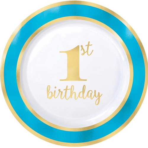 1st BDAY Blue H-S 10 1/4in/26c