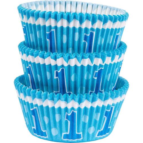 1st BDAY Blue STD Cupcake Case
