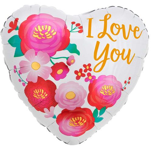 STD HX I Love You Ombre Flower
