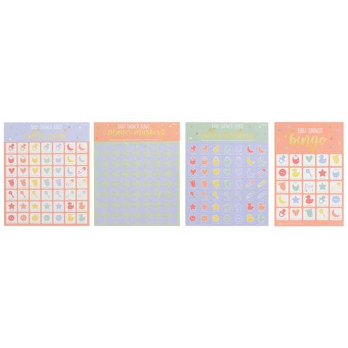 Baby Shower 2-in-1 Bingo Game