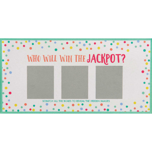 Baby Scratch-Off Card Game