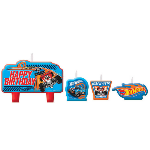 Hot Wheels Wild Racer BDAY Can