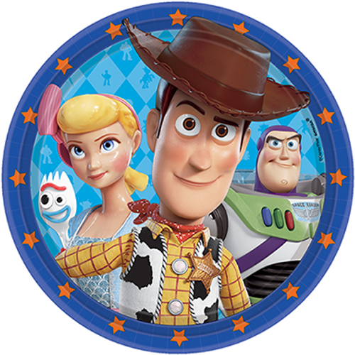 Toy Story 4 9in/23cm Rnd Plate