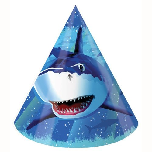 Shark Splash Party Hats Child