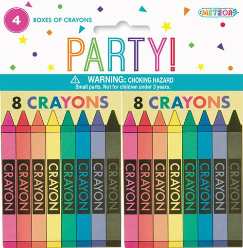 4 Crayon Boxes (8CT)