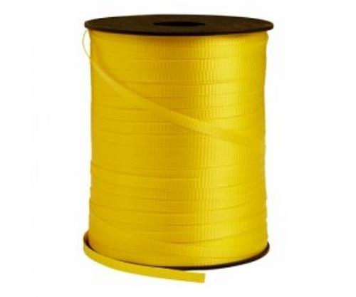 FS Crimped Ribbon 5mm x 500Y Spool Pastel Yellow