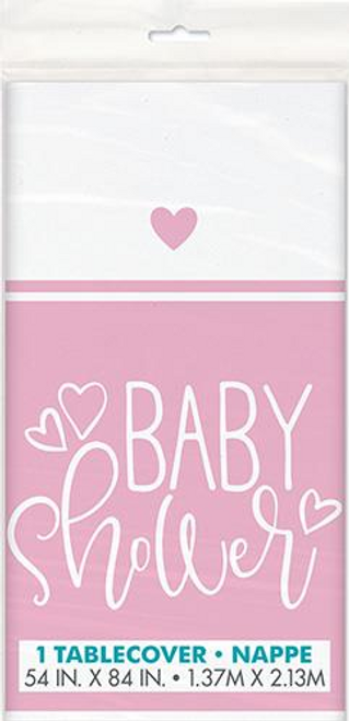 PINK HEARTS B/S TABLECOVER